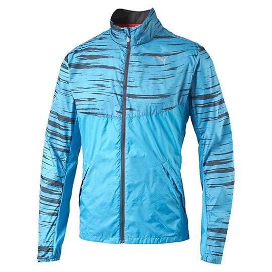 Куртка Graphic Woven JacketОлимпийки<br>Куртка Graphic Woven JacketМаксимальная защита и эффективность обеспечена с этой легкой ветровкой. Высокофункциональные материалы обеспечивают продолжительную воздухопроницаемую защиту против продувания, помогая поддерживать температуру тела на комфортном уровне во время тренировки. Коллекция: Весна-лето 2016 Технология защиты от ветра windCELL Отверстия для вентиляции на спине Анатомический крой воротника предотвращает трение Два кармана по бокам  и карман на молнии сзади с отверстием для наушников внутри Супер светоотражающая  застежка молнии обеспечивает дополнительную видимость в условиях плохого освещения Светоотражающий логотип и другие элементы для лучшей видимости  в условиях плохого освещения Ветровка упаковывается в карман на спине, превращаясь в небольшую сумочку на молнии с эластичной резинкой, которую можно одеть на  кисть руки во время пробежки  Материал: Материал верха: 100% нейлон. Материал подкладки: 100% полиэстер, сетка, финальная влагоотводящая обработка на биологической основе<br><br>color: синий<br>size RU: 52-54<br>gender: Male