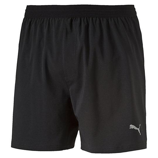 Шорты Pace 5  ShortШорты<br>Шорты Pace 5  ShortЭти мужские шорты специально созданы для свободы движения во время тренировок. Высокотехнологичный материал отводит излишнюю влагу от тела и позволяет сохранять сухость и свежесть в течение всей тренировки.<br>Коллекция: Весна-лето 2016dryCell: Высокофункциональные дышащие материалы помогают задерживать тепло для поддержки оптимальной температуры когда снаружи холодноЛёгкая, эластичная ткань для комфорта и  удобства во время бегаСетчатые вставки на спине для улучшенной циркуляции воздухаВнутренний шнурок для комфортаОтражающий логотип и другие отражающие детали для улучшенной видимости в условиях плохой освещенностиКарман на молнии сзадиВстроенные внутренние шорты<br>Покрытие Cleansport NXT для контроля запаха на органической основеЛаминированная водостойская ткань на кармане для защиты личных вещейЭластичный пояс на талии.Материал: 86% полиэстер, 14% эластан, финальная влагоотводящая обработка на биологической основе<br><br>color: черный<br>size RU: 44-46<br>gender: Male