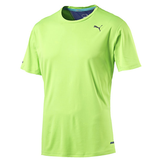 Футболка PWRCool S/S TeeФутболки и майки<br>Футболка PWRCool S/S Tee <br> Лаконичная мужская футболка изготовлена из высокотехнологичного материала, выводящего влагу и позволяющего коже оставаться сухой во время тренировки. Принт PWRCOOL на этой футболке активируется при соприкосновении с влагой для охлаждения тела и уменьшения температуры тела.<br> <br> Коллекция: Весна-лето 2016. <br> Технология  dryCELL, которая отводит от тела излишки влаги, что обеспечивает комфорт. <br> Плоские швы - при активном движении не натирают и не раздражают кожу <br> Светоотражающие элементы улучшат вашу видимость в темное время суток <br> Петля внутри для крепления шнура от наушников. <br> Технология Cleansport NXT обеспечивает контроль над запахом <br> Материал: 100% полиэстер <br><br><br>color: зеленый<br>size RU: 46-48<br>gender: Male
