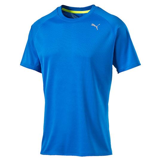 Футболка PE_Running_S/S TeeФутболки и майки<br>Футболка PE_Running_S/S TeeЭргономичная легкая футболка для бега, созданная для максимальной эффективности. Высокофункциональный материал выводит влагу наружу и позволяет коже оставаться сухой в любое время.Коллекция: Осень-зима 2016Состав: 100% полиэстер, сетчая структураТехнологии: dryCellВставки из сетки для  дополнительной вентиляции и комфорта по время тренировокЦвета: Плоские швы предотвращают натирание и раздражение кожи Светоотражающий логотип и другие элементы для лучшей видимости  в условиях плохого освещения Силиконовая петля для наушников внутри горловиныОтражающая лента сзади на шееРукав реглан для свободы движенийСтрана-производитель: Вьетнам<br><br>size RU: 44-46<br>gender: Male