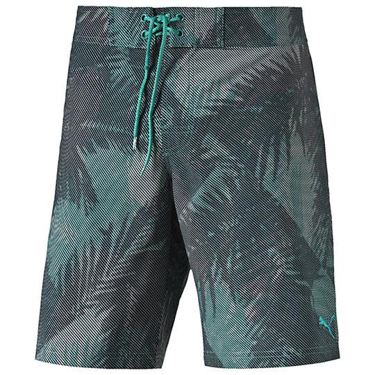 Пляжные Шорты Graphic 2 Beach ShortПлавки<br>Пляжные Шорты Graphic 2 Beach Short  Стильные и яркие пляжные шорты пригодятся на отдыхе, обеспечат комфорт и стильный внешний вид владельца. Отлично подойдут для купания и повседневной носки.  Коллекция: Весна-лето 2016  Принт по всему изделию  Эластичная резинка на талии с шнуровкой спереди  Удобный шнурок  Легкий тянущийся материал  Боковые карманы с обеих сторон  Материал: 86% полиэстер 14% эластан<br><br>color: зеленый<br>size RU: 44-46<br>gender: Male