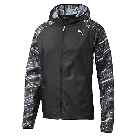 Куртка NightCat JacketОлимпийки<br>Куртка NightCat Jacket<br>Если вы предпочитаете вечерние тренировки, но не забываете о мерах предосторожности, наденьте на пробежку куртку NightCat. Светоотражающие элементы NightCat, непродуваемые материалы, расположенные в местах повышенного тепловыделения сетчатые вставки для циркуляции воздуха — эта куртка справится с любыми препятствиями, которые встретятся на пути.<br><br>Коллекция: Осень-зима 2016<br>Состав: полиэстер 100%; водоотталкивающее покрытие DWR<br>Технологии: Высокотехнологичный дышащий материал windCELL защитит от холодного ветра даже во время самой долгой пробежки и сохранит оптимальную температуру тела<br>Вид спорта: Бег<br>Светоотражающий принт NightCat по всей поверхности изделия делает спортсмена заметным при плохом освещении<br>Куртку можно сложить, поместить в ее собственный задний карман и нести в руке<br>Капюшон<br>Застежка-молния по всей длине с клапаном, защищающим подбородок от соприкосновения с язычком молнии<br>По бокам два кармана на молнии, имеется также карман сзади<br>Расположенные в местах повышенного тепловыделения вставки улучшают циркуляцию воздуха<br>Рукав реглан предотвращает натирание<br>Петелька для наушников<br>Отверстия для больших пальцев<br>Светоотражающие графические элементы по бокам<br>Страна-производитель: Гонконг<br><br><br>size RU: 46-48<br>gender: Male