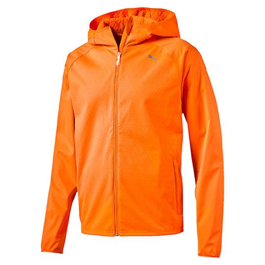 Куртка NightCat Storm JktОлимпийки<br>Куртка NightCat Storm Jkt<br>Если вы предпочитаете вечерние тренировки, но не забываете о мерах предосторожности, наденьте на пробежку куртку NightCat Storm. Благодаря светоотражающим элементам вы будете заметны, а материалы stormCELL защитят вас от холода и сырости. В заднем кармане, закрывающемся на молнию, есть петля для наушников, чтобы вы могли слушать музыку в любом месте.<br><br>Коллекция: Осень-зима 2016<br>Состав: 100% полиэстер, трехслойный материал: джерси — мембрана — флис<br>Технологии: Высокотехнологичный дышащий и непромокаемый материал stormCELL защитит от дождя и ветра<br>Вид спорта: Бег<br>NightCat: Светоотражающие элементы улучшают видимость при плохом освещении<br>Застежка-молния во всю длину изделия<br>Ворс с изнаночной стороны дает дополнительное тепло<br>Задний карман на молнии с петлей для наушников<br>Отверстия для больших пальцев<br>Светоотражающий логотип PUMA слева на груди<br>Страна-производитель: Гонконг<br><br><br>size RU: 50-52<br>gender: Male