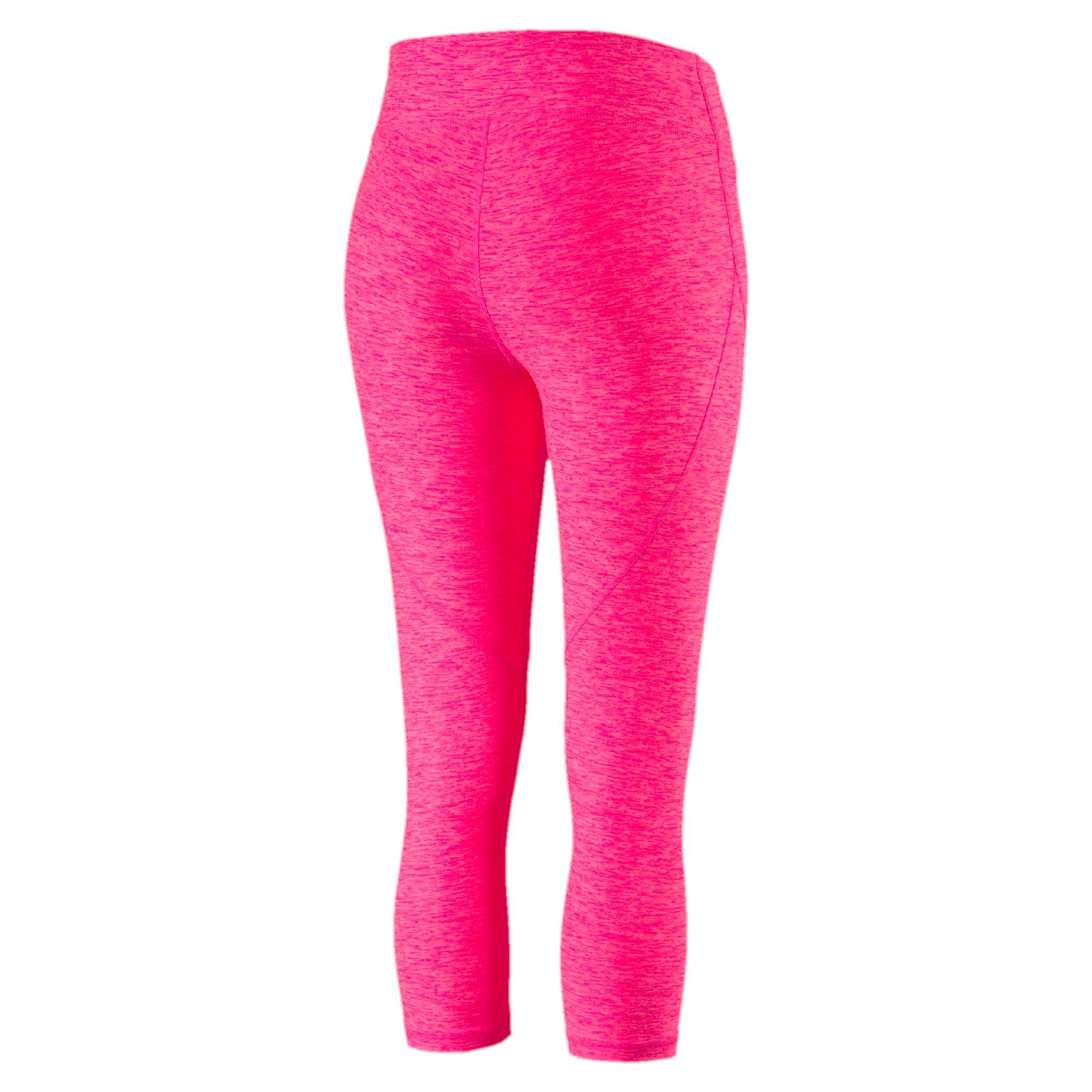 puma active training damen yogini heather 3 4 sporthose. Black Bedroom Furniture Sets. Home Design Ideas