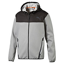 Giacca tuta con cappuccio Active Training PWRWARM Tech Fleece uomo