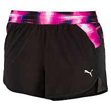 Running Damen Blast Graphic Shorts