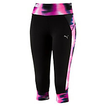 Running Damen Graphic 3/4 Laufhose