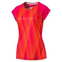 T-Shirt Running Graphic Mesh pour femme