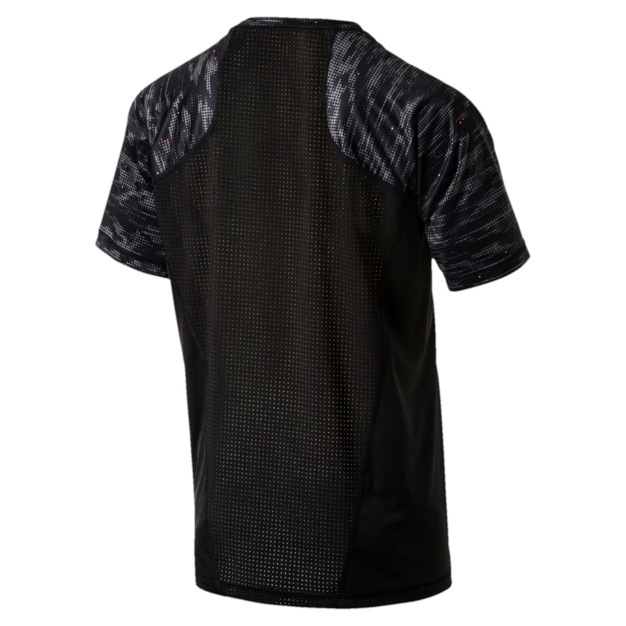 stampa da T uomo Puma Maglietta da Novità uomo Training grafica shirt con di Active wgZExX0Axn