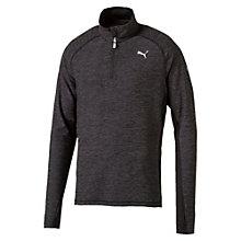 Running Herren Half Zip Langarm-Shirt