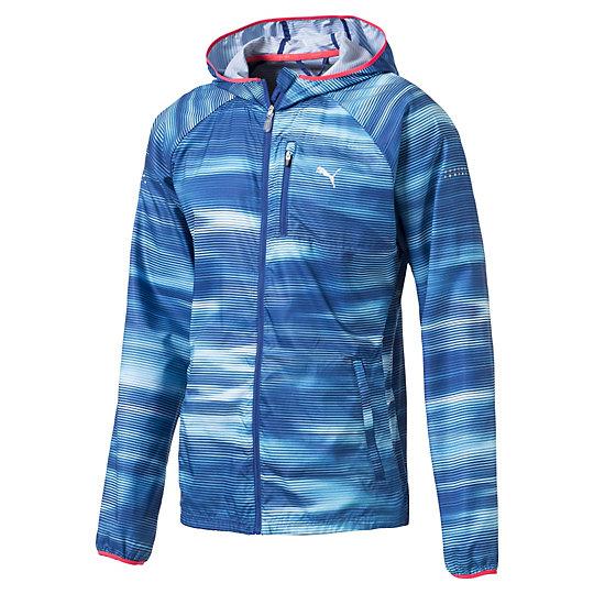 ラストラップ グラフィック ジャケット メンズ TRUE BLUE-multi colouredAOP