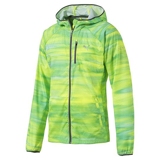 ラストラップ グラフィック ジャケット メンズ Safety Yellow-multi colouredAOP