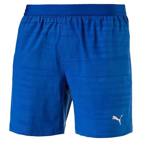 プーマ ペース グラフィック ショーツ 7インチ メンズ true blue-embossed