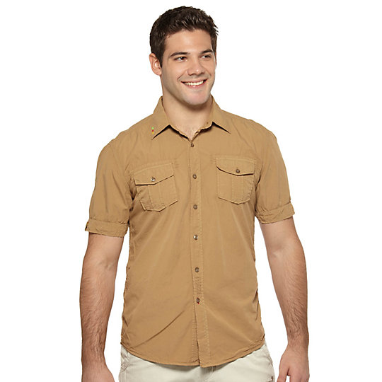 Wilderness Woven Short Sleeve Shirt