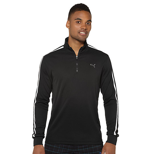 1/4 Zip Long Sleeve Golf Pullover