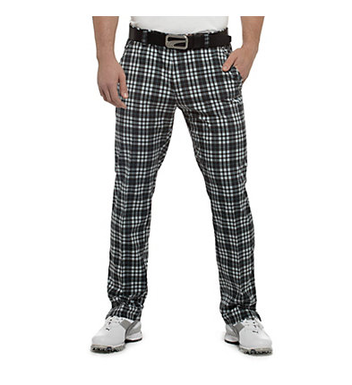 Tech Plaid Golf Pants