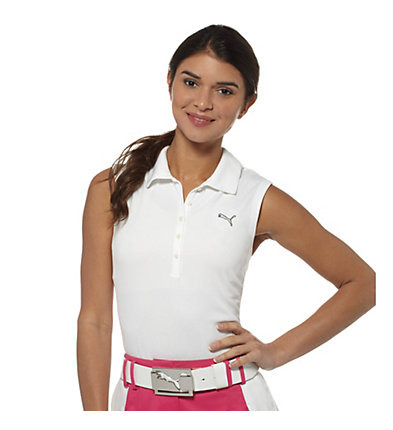 Sleeveless Golf Polo Shirt