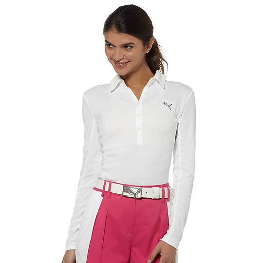 Long Sleeve Golf Polo Shirt