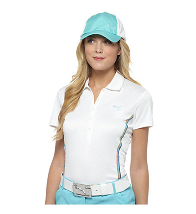 Ombre Trim Golf Polo Shirt
