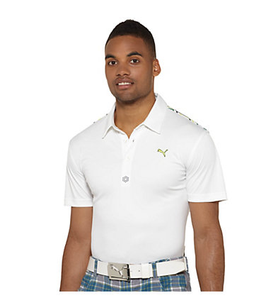 Tech Yoke Graphic Golf Polo Shirt