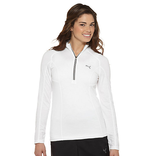 1/4 Zip Long Sleeve Golf Top