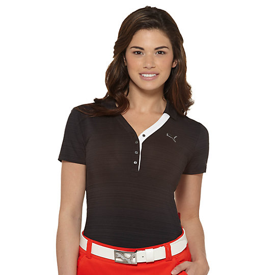 Barcode Golf Polo Shirt