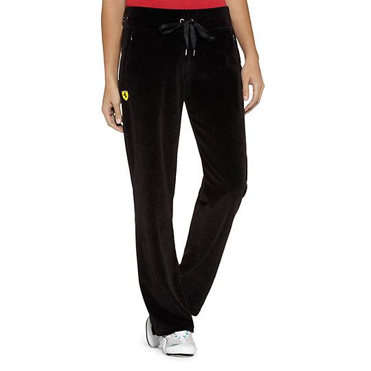 Ferrari Lifestyle Velour Track Pants