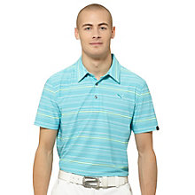 Yarn Dye Multi Stripe Golf Polo Shirt