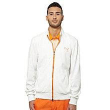 Knit Stripe Golf Jacket
