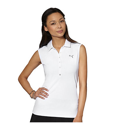 Tech Sleeveless Golf Polo Shirt