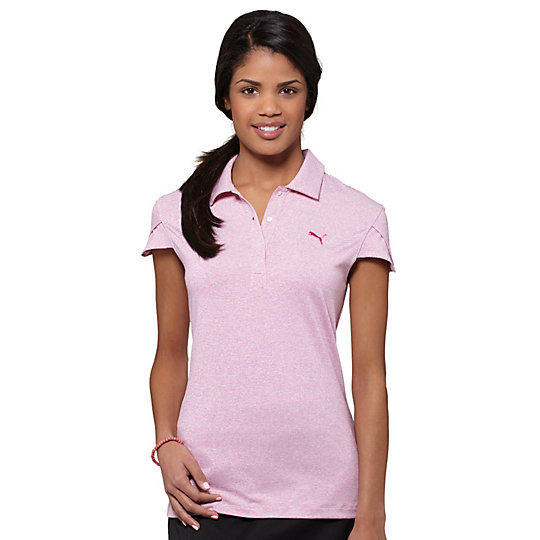 Micro Stripe Golf Polo Shirt