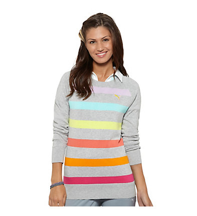 Crew Stripe Golf Sweater