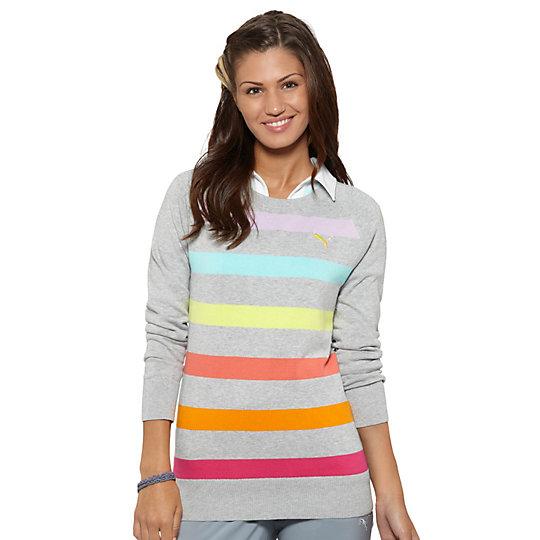 Crew Stripe Golf Sweater