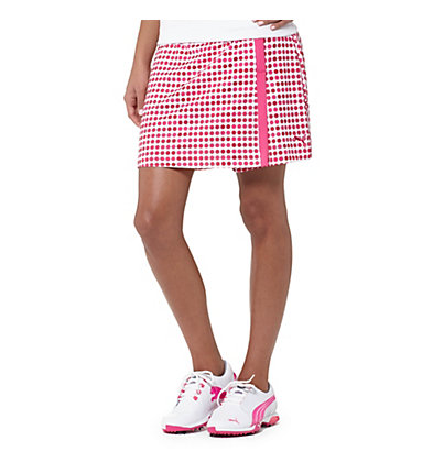 Dot Pattern Golf Skirt
