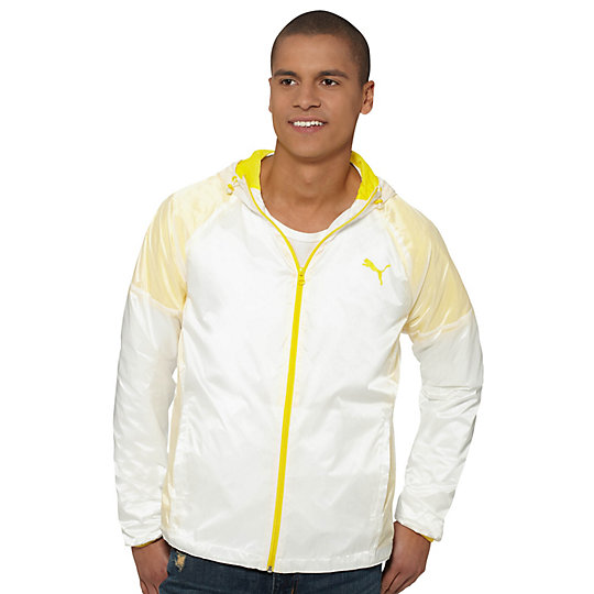 Translucent Hooded Jacket