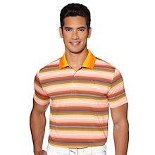 Road Map Stripe Golf Polo Shirt