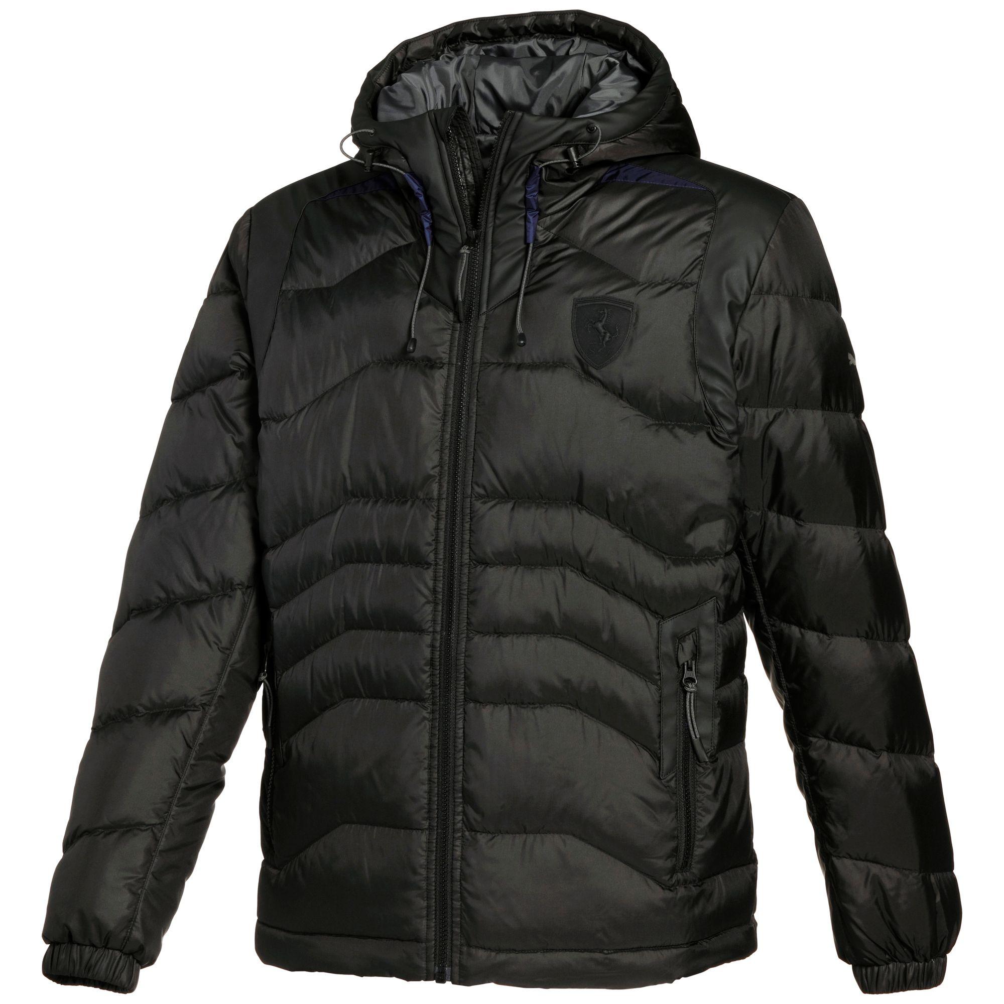 puma ferrari down jacket apparel winter jackets auto men new | ebay