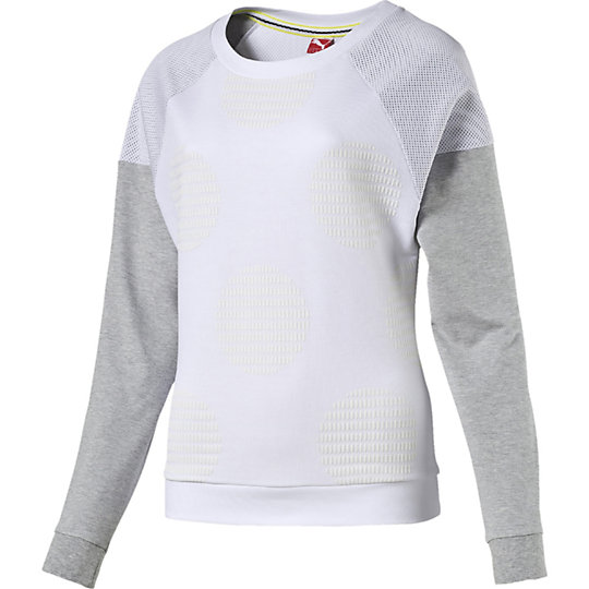 ������� Crew Neck - Puma��������� � ����<br>������� Crew Neck������� Crew Neck, �������������� ����������� ������� � ��������� PUMA Originals �1, ��������� ����� ������� � ���������� ���������� � ������ �������. ���������� � �������, �� �������� ���������� ��������� ��� ������������� �������������. � ����� ������ �������� �� ������ ������ �� ����!  �����: �����-���� 2015 ���� ������: 82% ������, 18% ��������� ������� ������ �����, �� �������������������� �� ����� �� ����� ��� ������ ���������� ������������������� ����� ������<br><br>color: �����<br>size US: XS<br>gender: Female