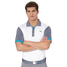 Color Block Golf Polo Shirt