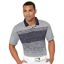 Novelty Stripe Golf Polo Shirt