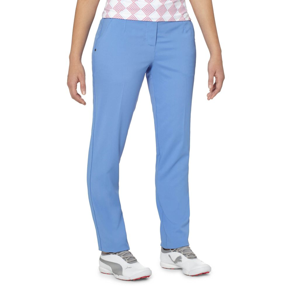 Innovative Classic PUMA Pinwheel Golf Pants Glacier Gray  Puma Womens Pants New