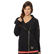 Asymmetrical Zip-Up Jacket