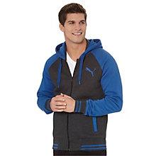 Puma Fleece Varsity Hooded Jacket