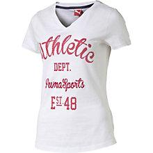Varsity t-shirt.