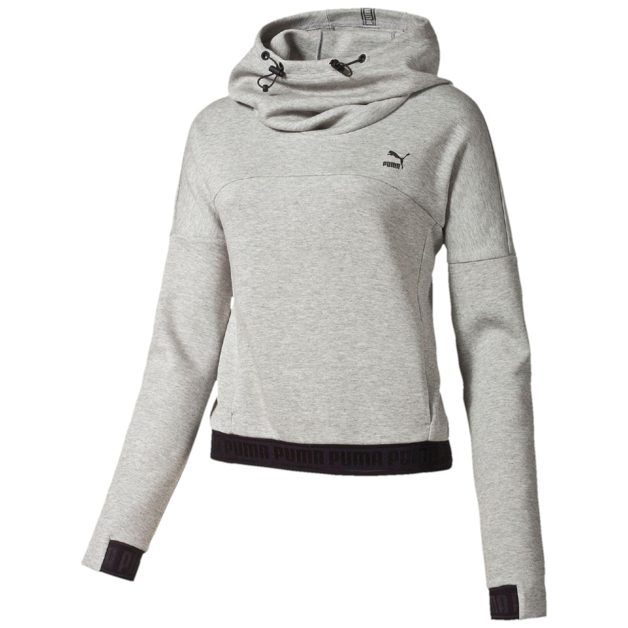 puma hoodie grau