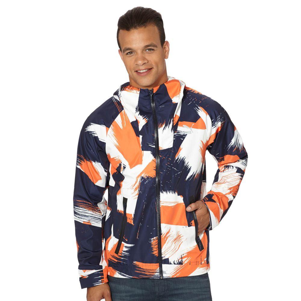 Puma Evo Zip Up Hooded Windbreaker Ebay