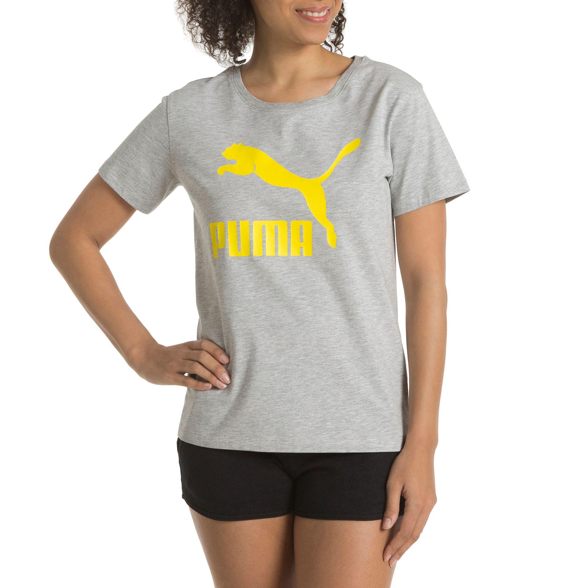 puma damen no 1 logo t shirt sport classics t shirt frauen neu. Black Bedroom Furniture Sets. Home Design Ideas