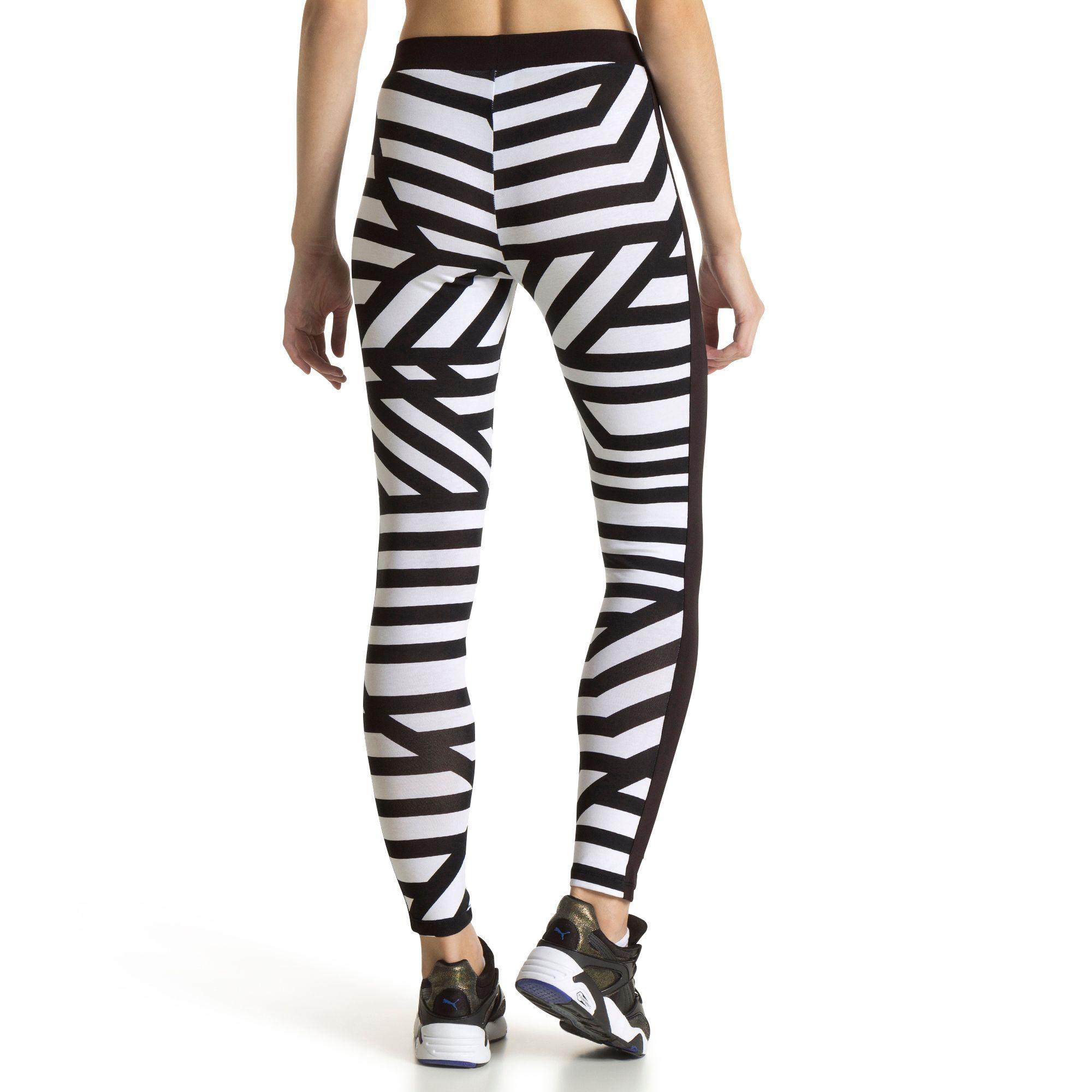 puma damen aop leggings sport classics sporthose frauen neu ebay. Black Bedroom Furniture Sets. Home Design Ideas
