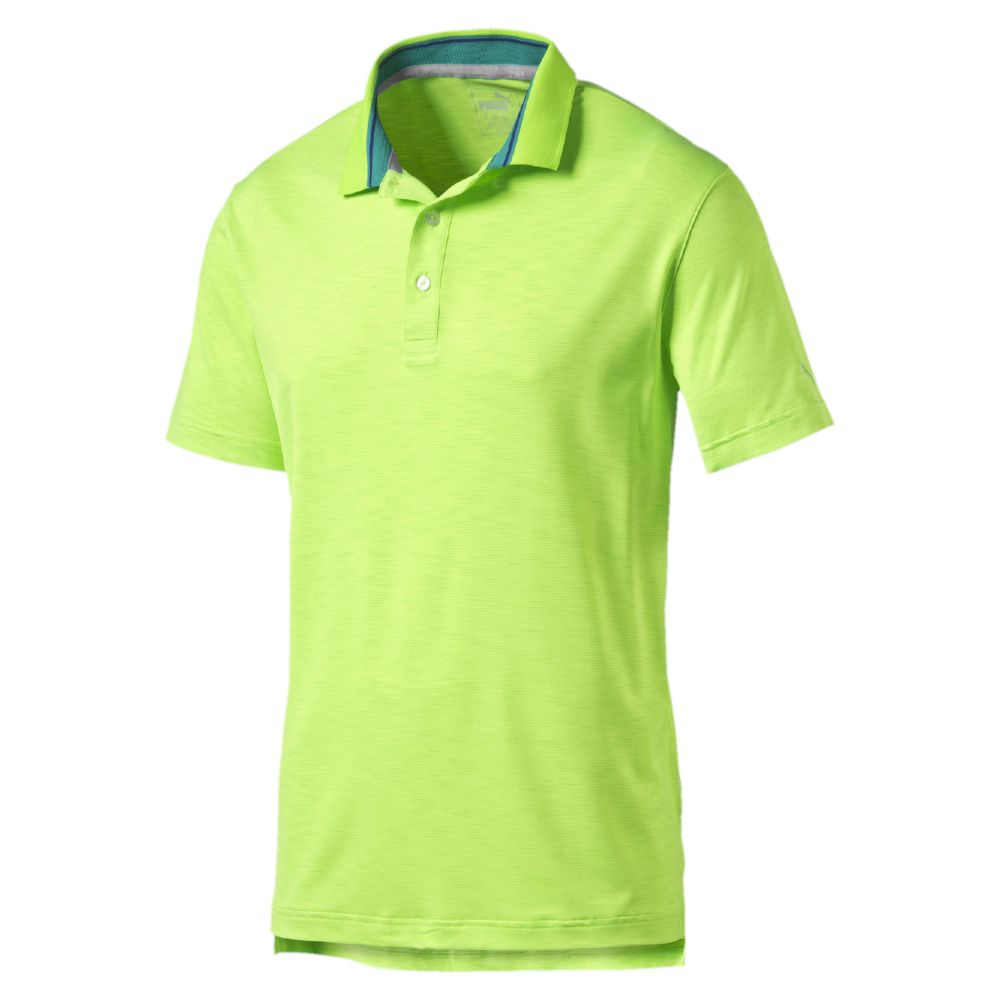 Puma Tailored Tipped Golf Polo Shirt Ebay