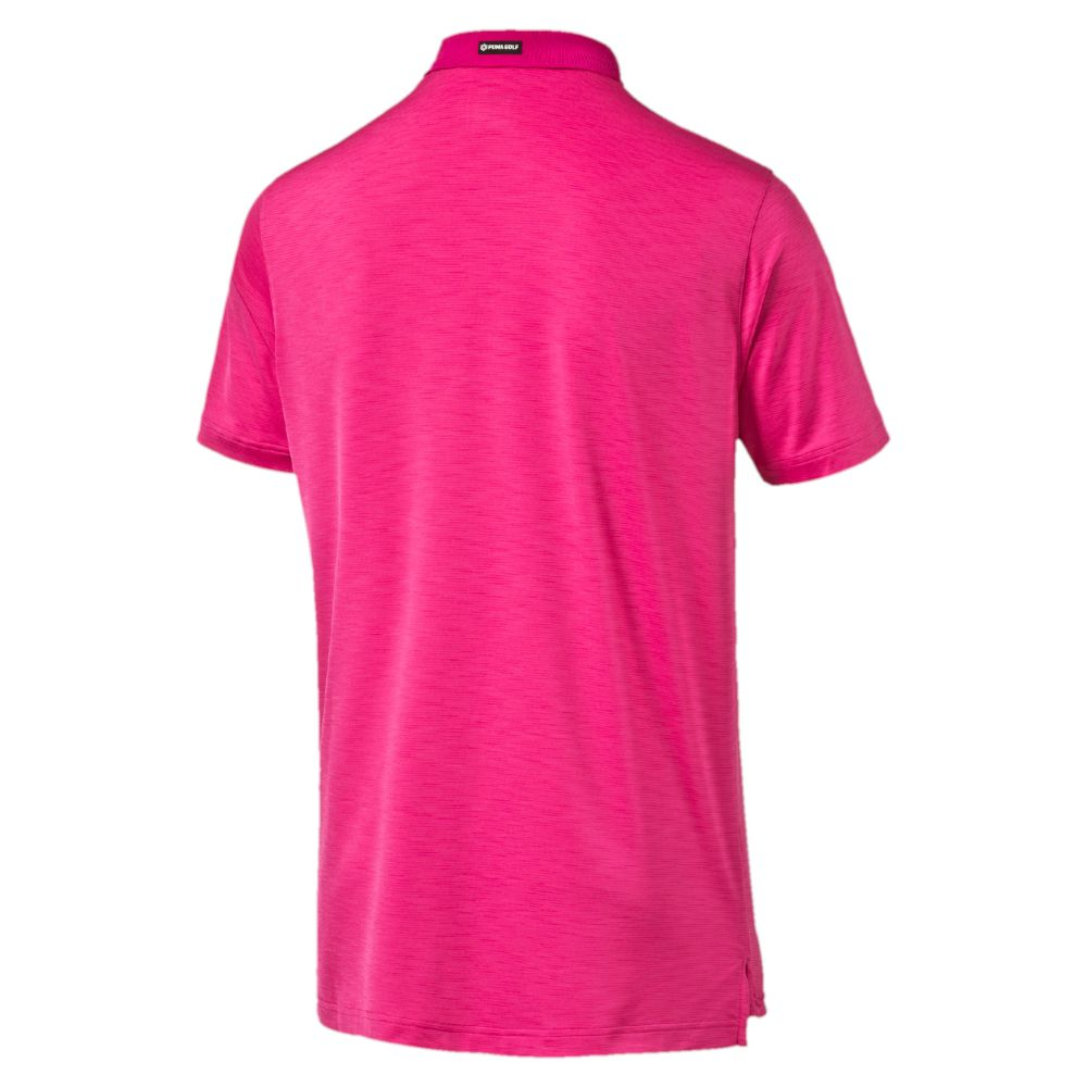Puma tailored tipped golf polo shirt ebay for Name brand golf shirts